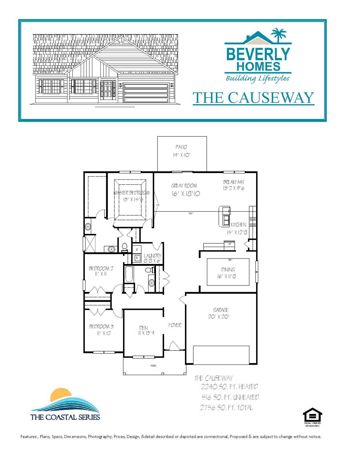 Lifestyle Homes Sudbury Floor Plans